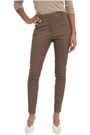 Fiveunits Dame Chinos - Angelie Pure Check