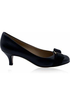 Salvatore Ferragamo Dame Pumps - Leather Carla Heel Pumps