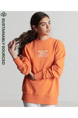 Superdry Dame Sweatshirts - Studios Recycled City-collegegenser med rund hals