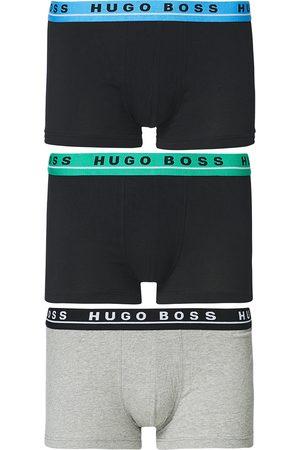 HUGO BOSS Herre Underbukser - 3-Pack Boxer Trunk Navy/Grey/Black