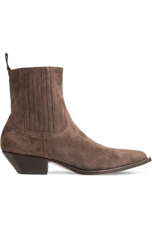 SONORA 35mm Hidalgo Suede Ankle Boots