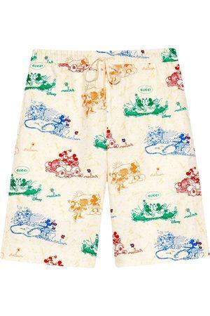 Gucci Herre Bermudashorts - X Disney Mickey Mouse and Minnie print shorts