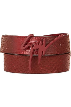 Giuseppe Zanotti Herre Belter - Signature buckle belt