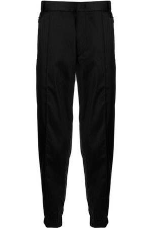Emporio Armani Slim-fit cropped trousers