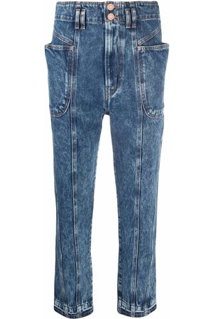 Isabel Marant Dame Tapered - Acid wash mum jeans