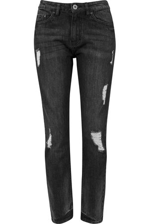 Urban classics Dame Boyfriend - Jeans 'Boyfriend