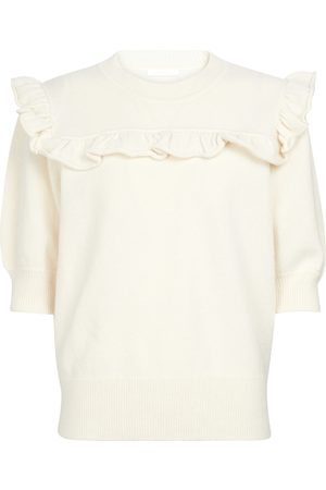 Chloé Ruffle-trimmed sweater