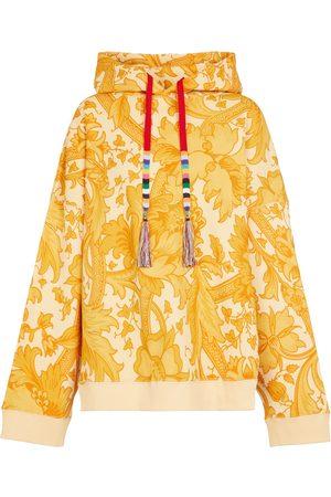 Etro Printed cotton hoodie