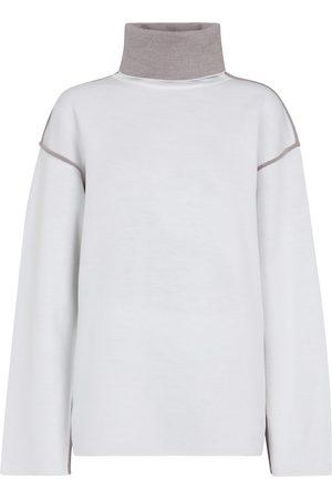 Victoria Victoria Beckham Jersey turtleneck sweater