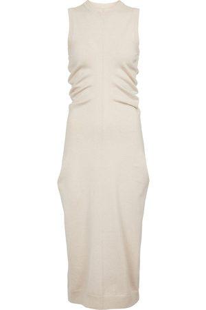 Maison Margiela Cashmere and cotton midi dress