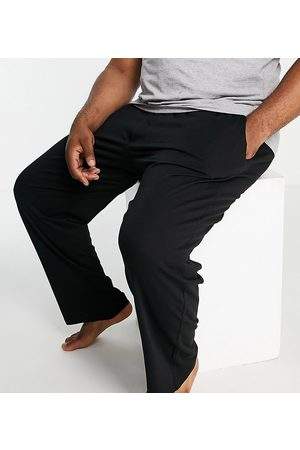 French Connection Plus FCUK jersey trousers in black