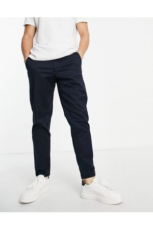 SELECTED Chinos in slim tapered fit in navy