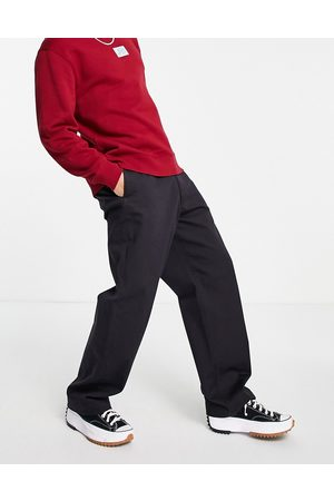 Levi's Levi's Skateboarding loose fit twill chino trousers in black