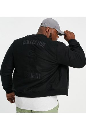 Bolongaro Plus descent bomber jacket-Black