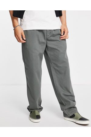 Carhartt Salford relaxed straight fit trousers in green