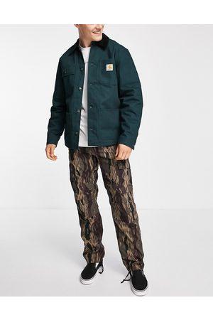 Carhartt Aviation cargo trousers in camo CO-Green