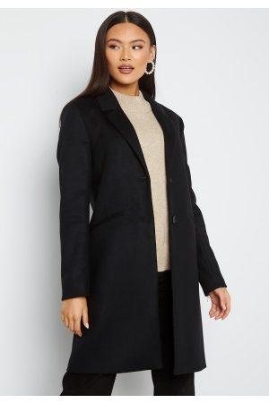 GANT Dame Vinterkåper - Classic Tailored Coat 5 Black XL