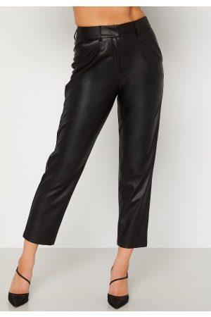 BUBBLEROOM Uma PU trousers Black M