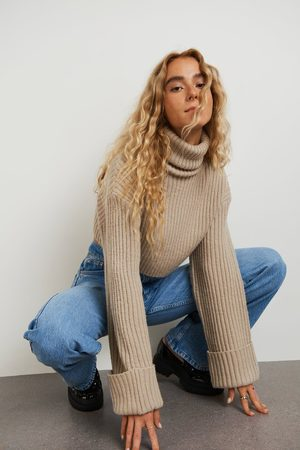 Gina Tricot Dame Strikkegensere - River knitted sweater