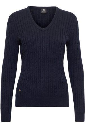 Daily Sports Dame Strikkegensere - Madelene Pullover Strikket Genser