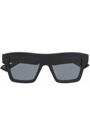 Gucci Herre Solbriller - Square-frame tinted sunglasses