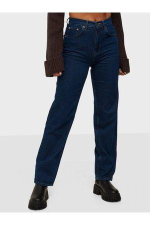 Gina Tricot 90s High Waist Jeans Ocean
