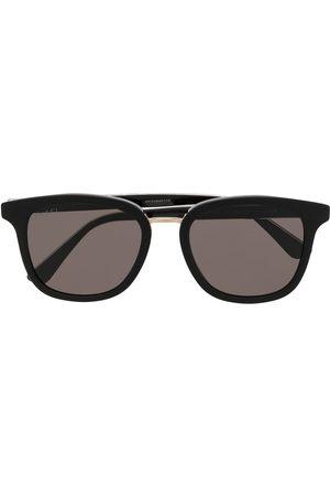 Gucci Herre Solbriller - Web-stripe pantos-frame sunglasses
