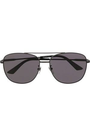 Gucci Solbriller - Aviator-frame tinted sunglasses