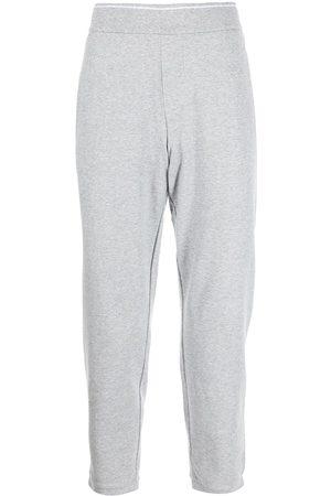 Armani Herre Joggebukser - Slim-fit cotton track pants