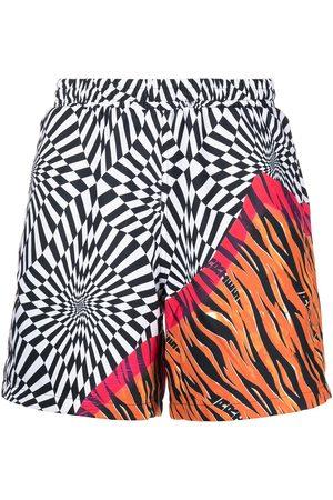 Vans Herre Bermudashorts - X Aries distorted-print shorts