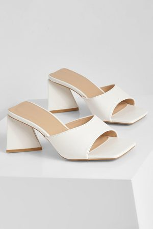 Boohoo Dame Flip flops - Triangle Heel Mules
