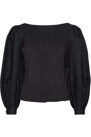MOTHER OF PEARL Julie Long Sleeve T-Shirt Bluse Langermet
