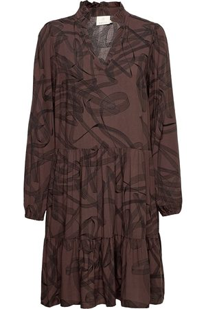 Kaffe Kabettie Dress Knelang Kjole