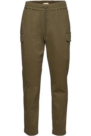 Revolution Herre Cargobukser - Cargo Trousers With Vintage Wash Chinos Bukser