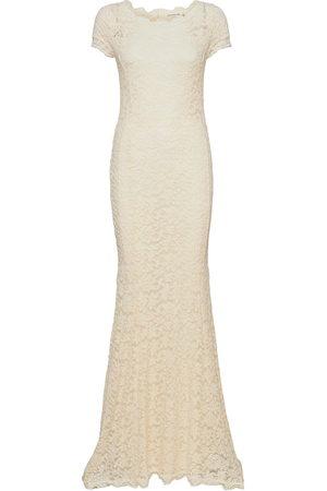 Rosemunde Dress Ss Dresses Bodycon Dresses Creme