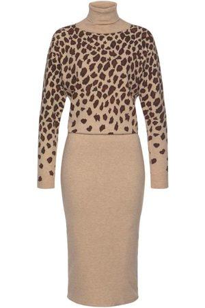 Lascana Dame Strikkede kjoler - Strikkekjole
