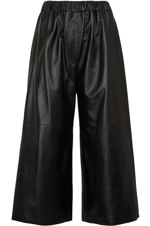 Loewe Dame Skinnbukser - Leather culottes