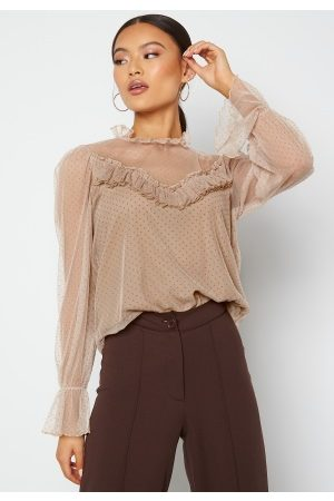 Happy Holly Jessica top Beige 32/34