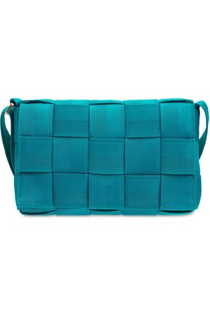 Bottega Veneta Herre Skuldervesker - Webbing Small Intreccio Tech Bag