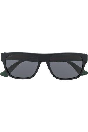 Gucci Herre Solbriller - Rectangle-frame sunglasses