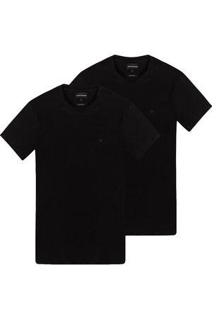 Emporio Armani Herre Kortermede - Branded T-shirt two-pack