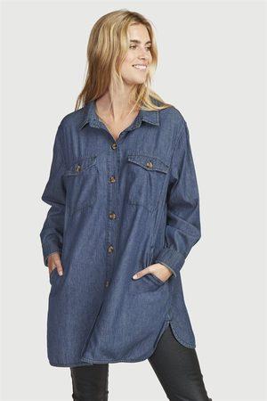 Cellbes Lang jeansskjorte