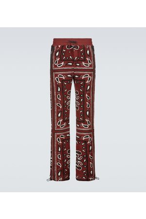 AMIRI Herre Joggebukser - Bandana printed fleece sweatpants