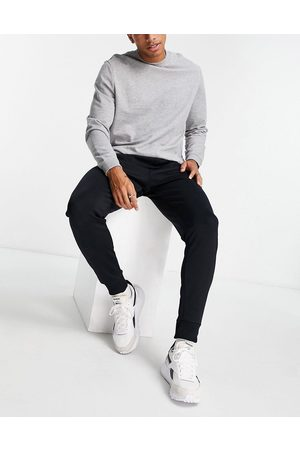 French Connection Herre Sett - Slim fit tricot jogger co-ord in navy