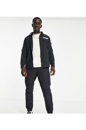 Polo Ralph Lauren X ASOS exclusive collab ripstop trousers in black with belt fastening and pony logo