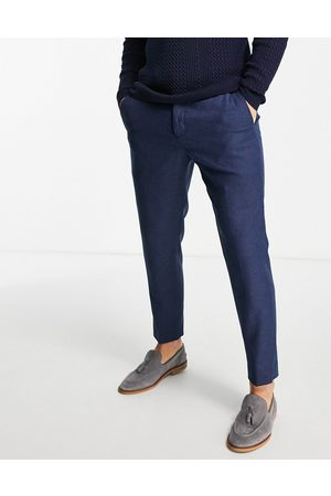 Twisted Tailor Herre Smale bukser - Moonlight trousers in navy