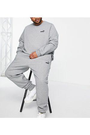 PUMA Herre Joggebukser - PLUS Essentials small logo joggers in grey