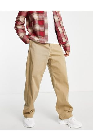 Levi's Herre Chinos - Levi's Skateboarding loose fit chino trousers in harvest gold -Neutral