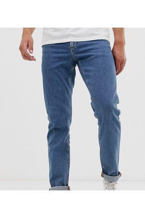 ASOS Slim jeans in flat mid wash blue