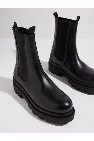Duffy Dame Chelsea boots - High Leather Chelsea Boots